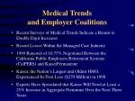 medical trends and employer coalitions