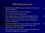 mso infrastructure