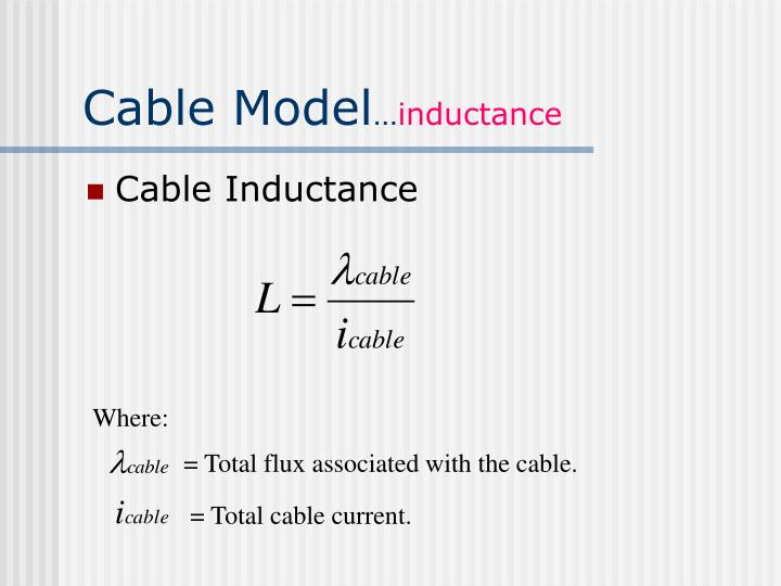 Cable Model