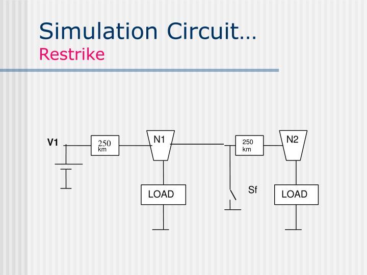 Simulation Circuit…
