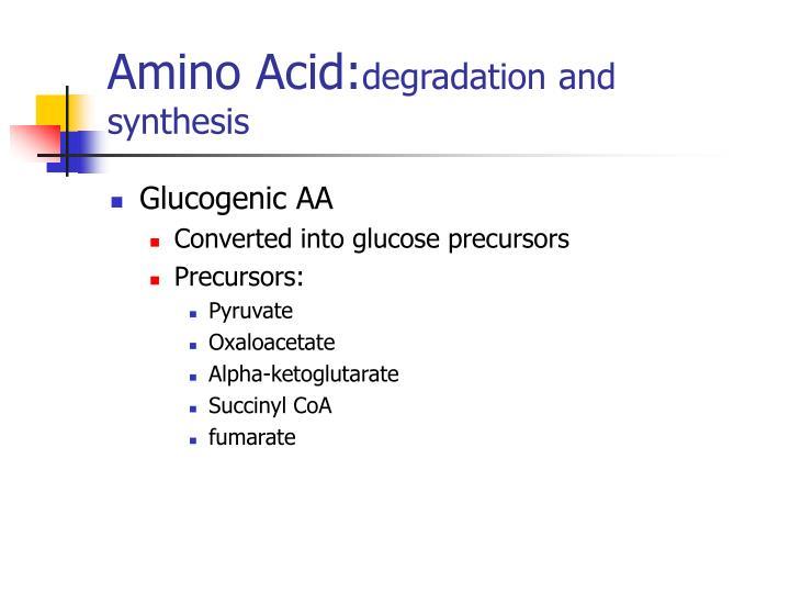 Amino Acid: