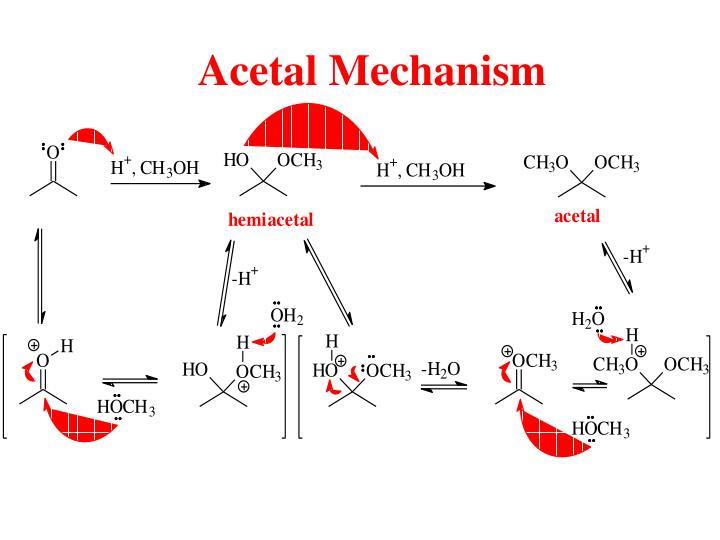 Acetal Mechanism