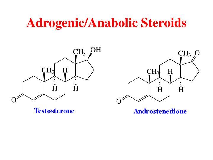 Adrogenic/Anabolic Steroids