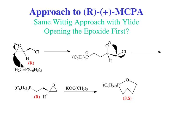 Approach to (R)-(+)-MCPA