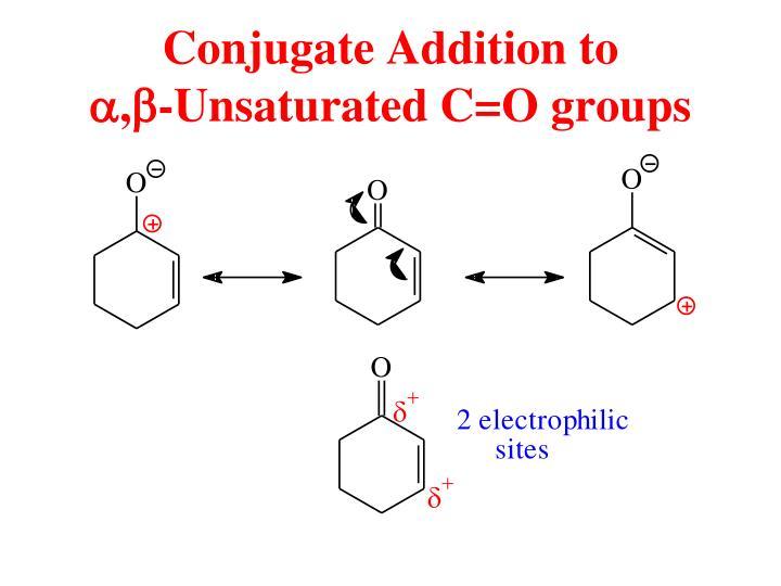 Conjugate Addition to
