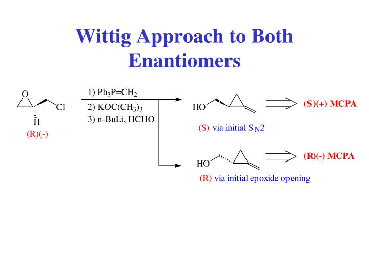 Wittig Approach to Both