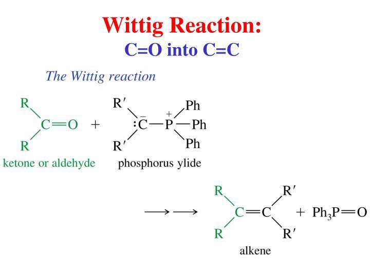 Wittig Reaction: