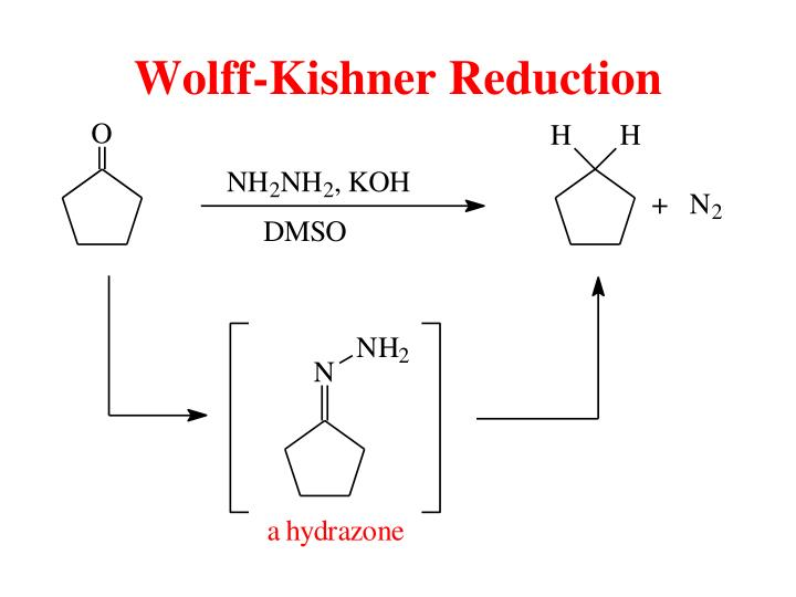 Wolff-Kishner Reduction