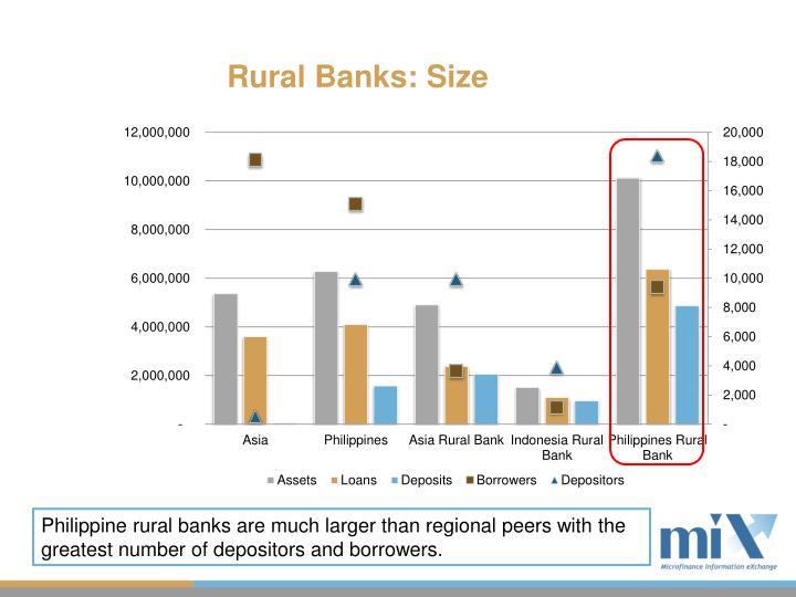 Rural Banks: Size