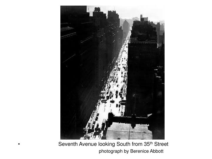 Seventh Avenue looking South from 35