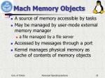 mach memory objects