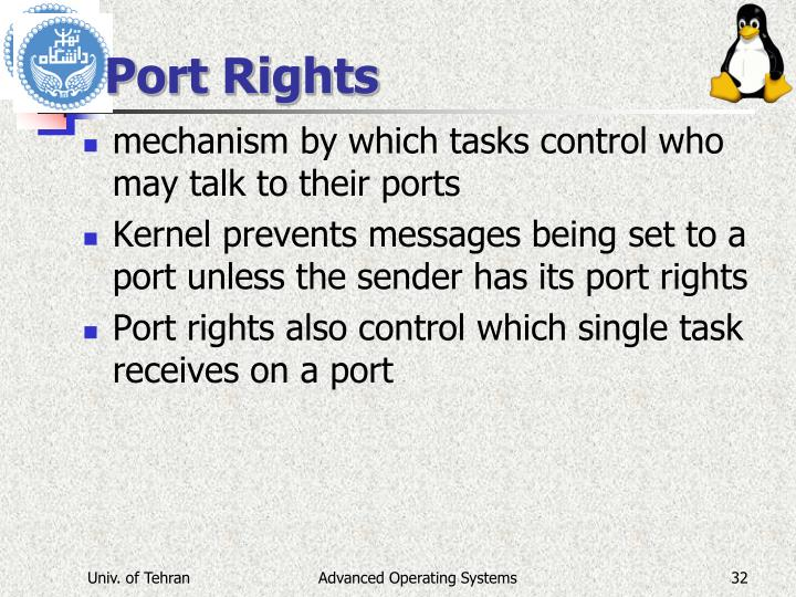 Port Rights