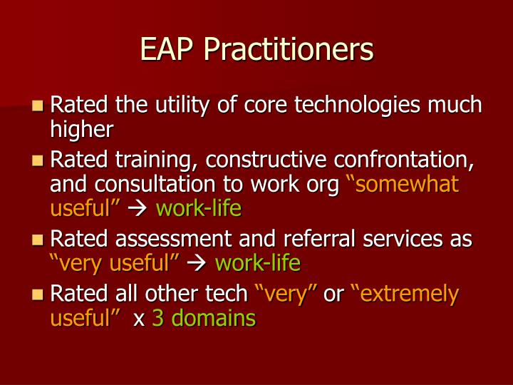 EAP Practitioners