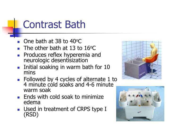 Contrast Bath