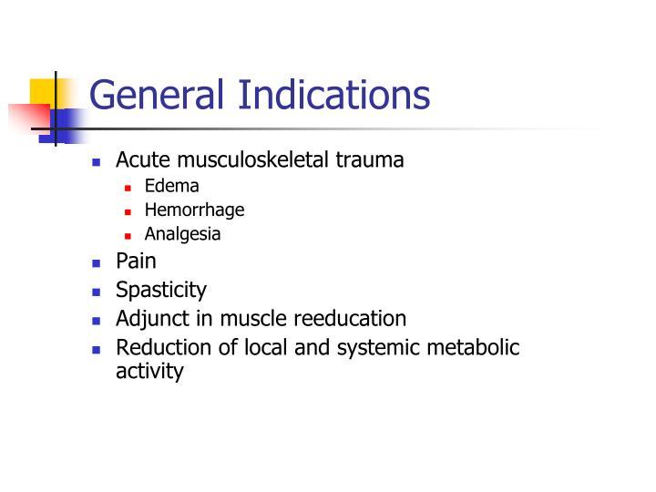 Acute musculoskeletal trauma