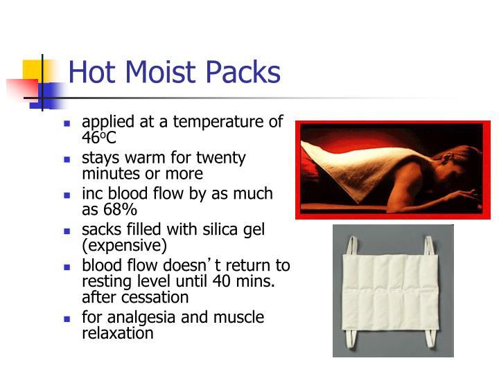 Hot Moist Packs
