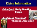 elston information