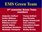 ems green team1