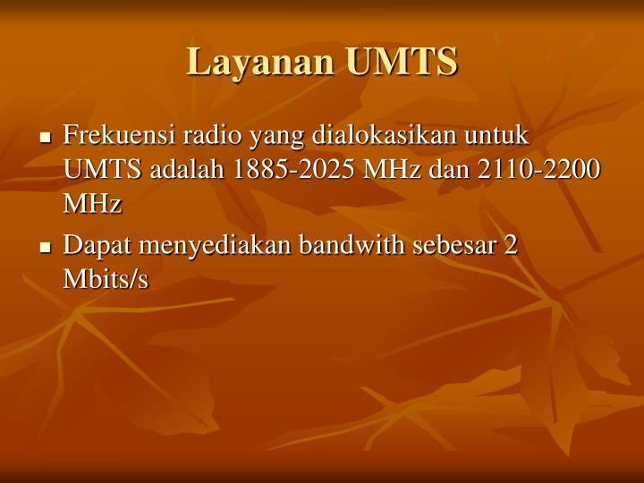 Layanan UMTS