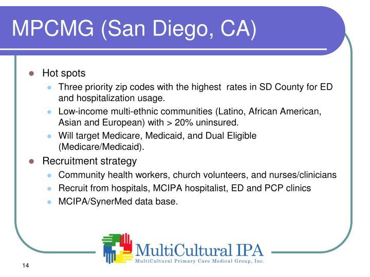 MPCMG (San Diego, CA)