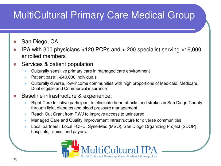 MultiCultural Primary Care Medical Group