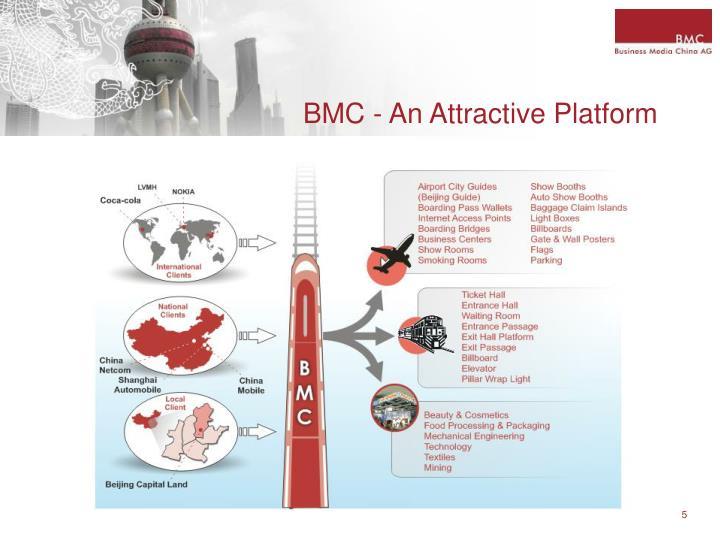 BMC - An Attractive Platform