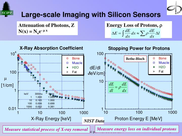 Large scale imaging with silicon sensors