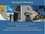 blueprint planning