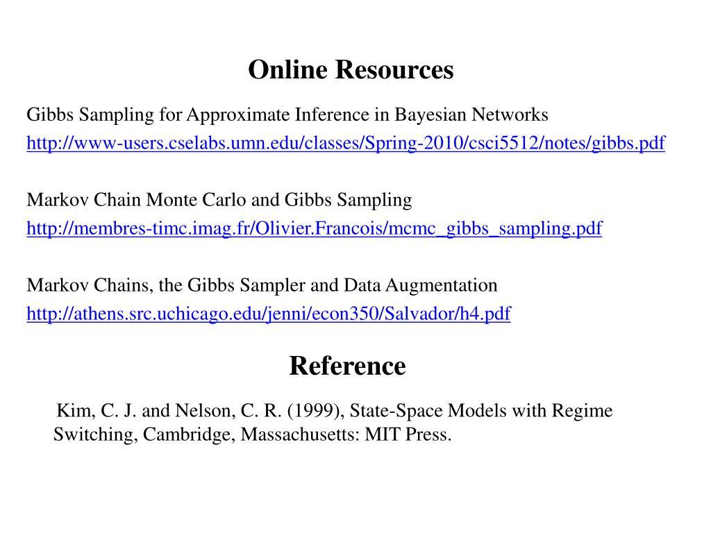 PPT - Gibbs Sampling PowerPoint Presentation - ID:4253958