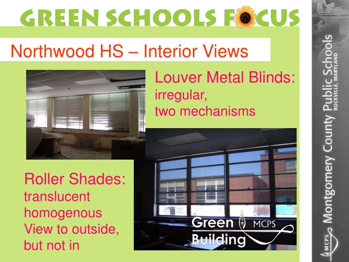 Northwood HS – Interior Views