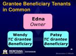 grantee beneficiary tenants in common