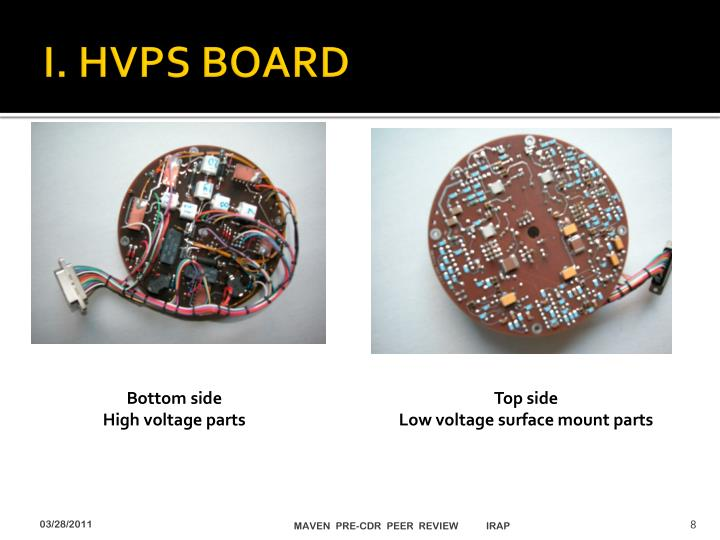 I. HVPS BOARD