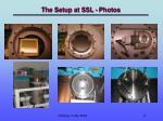 the setup at ssl photos