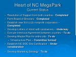 heart of nc megapark current status