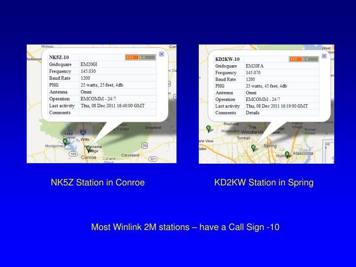 NK5Z Station in Conroe