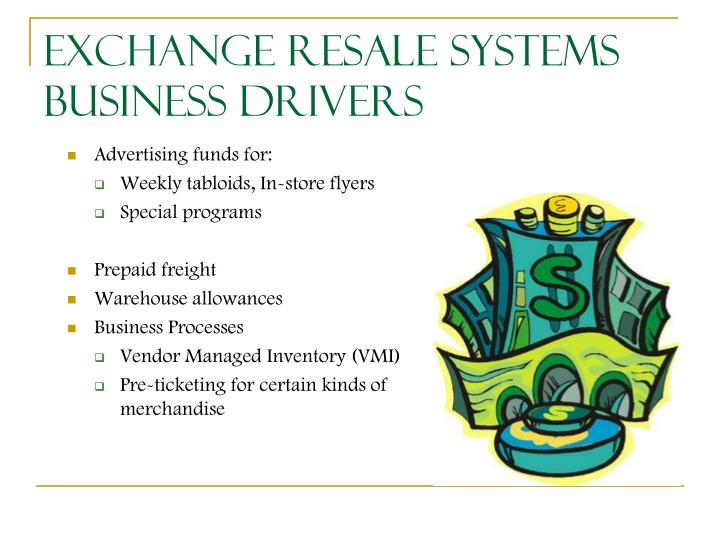Exchange Resale Systems