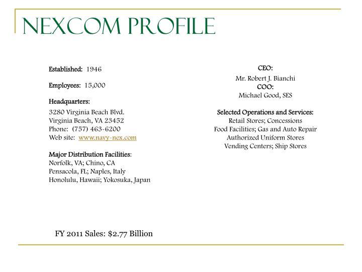 NEXCOM Profile