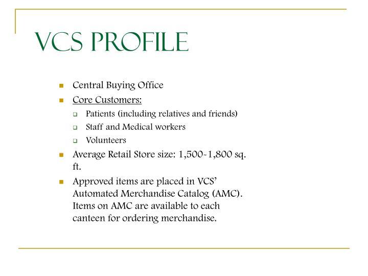 VCS Profile