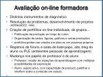 avalia o on line formadora1