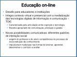 educa o on line