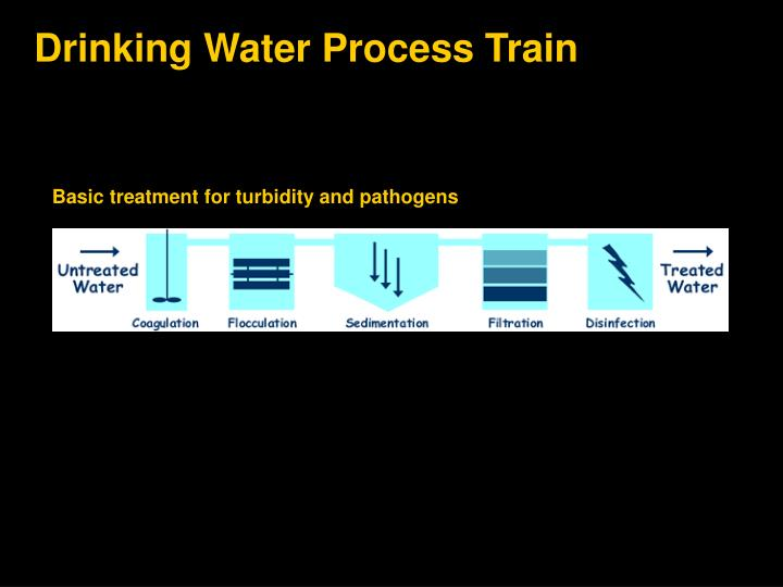 Drinking Water Process Train