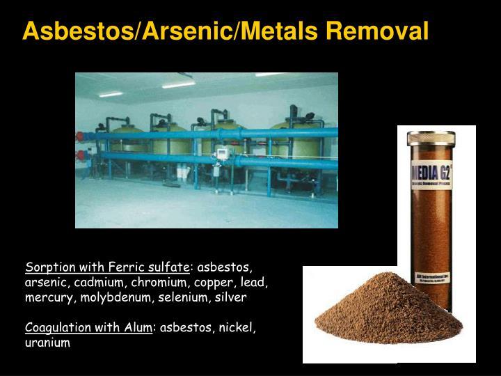Asbestos/Arsenic/Metals Removal