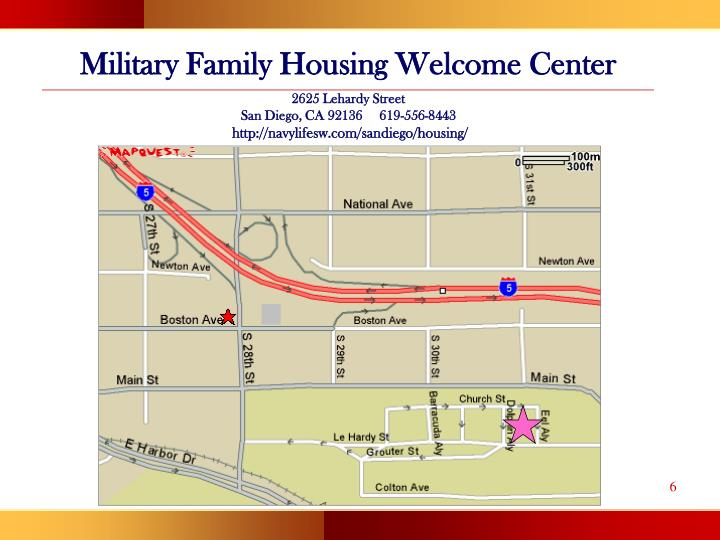 Military Family Housing Welcome Center