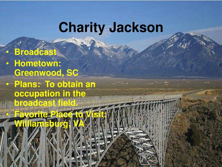 Charity Jackson