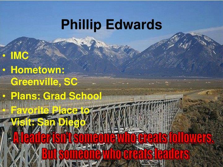 Phillip Edwards