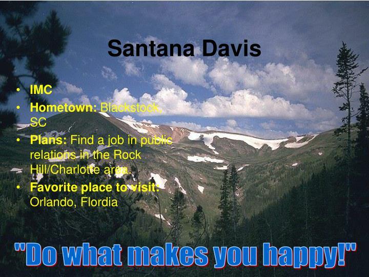 Santana davis