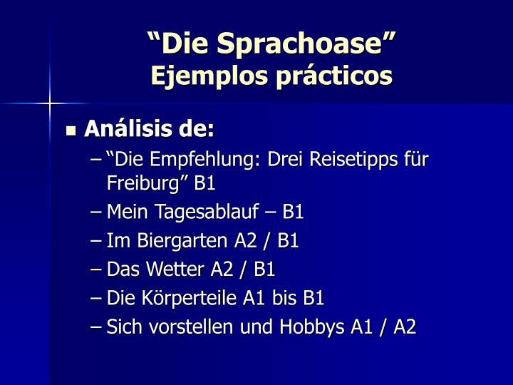 """""""Die Sprachoase"""""""