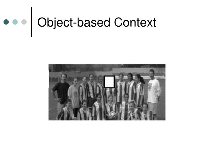 Object-based Context