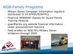 ngb family programs