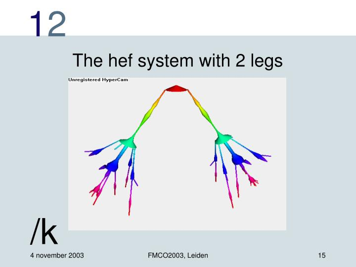 The hef system with 2 legs